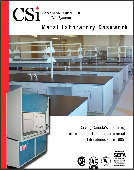 CSi Metal Laboratory Casework Catalog 2014-7