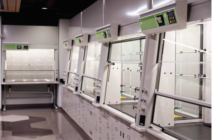 fume hood cabinets and bases