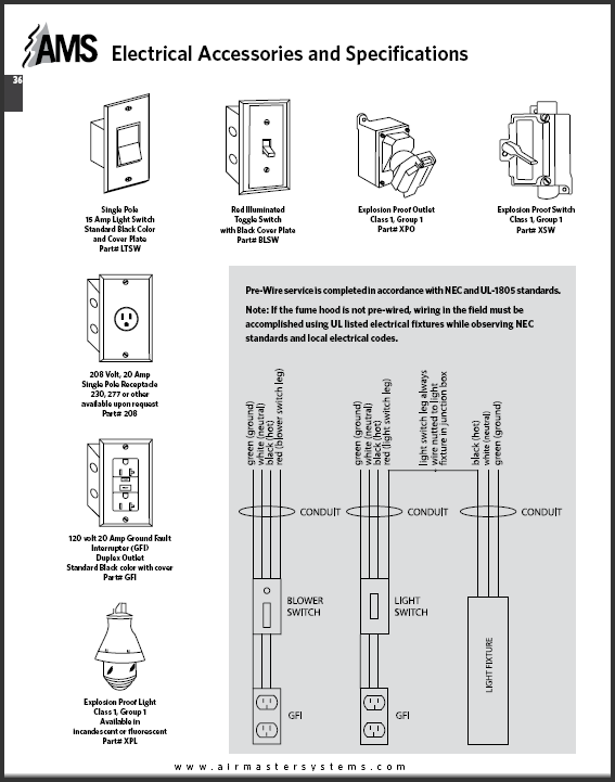 Catalog pages Electrical Accessories