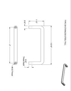 Casework Handle