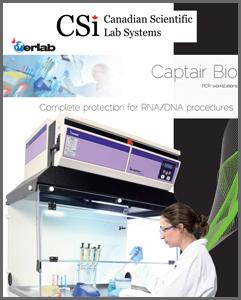 Captair Bio PCR Workstations