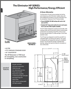 Ducted Fume Hood Catalogue